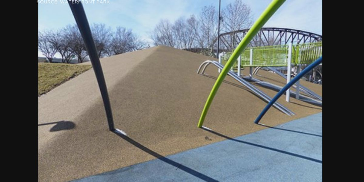 Playground at Waterfront Park closed