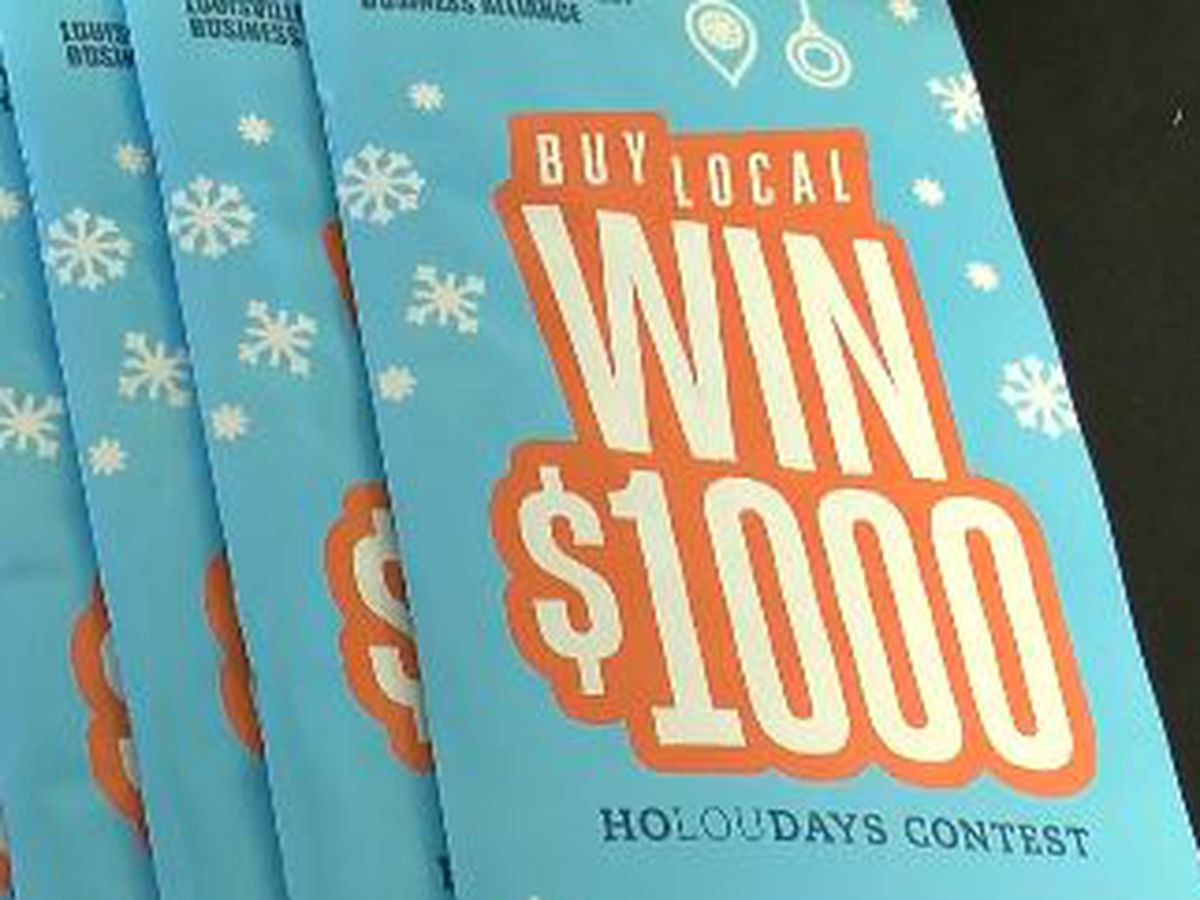 Shop local this holiday season and win $1000