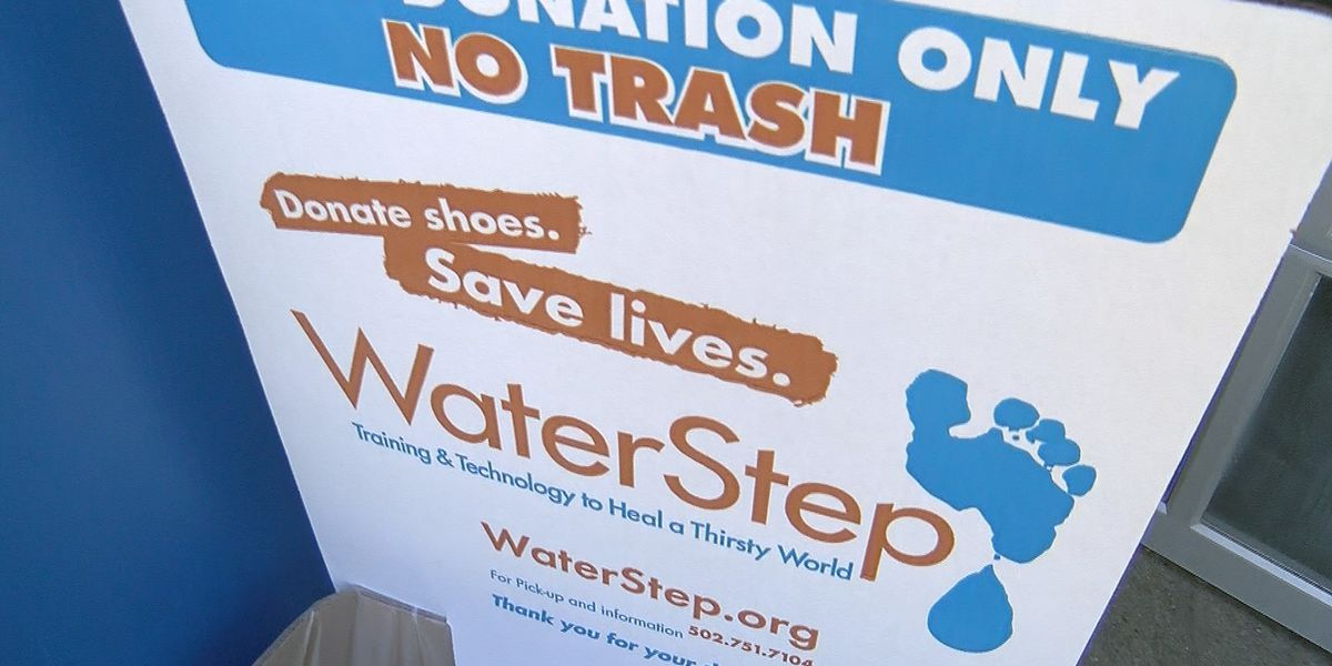 How donating your old shoes can help the world