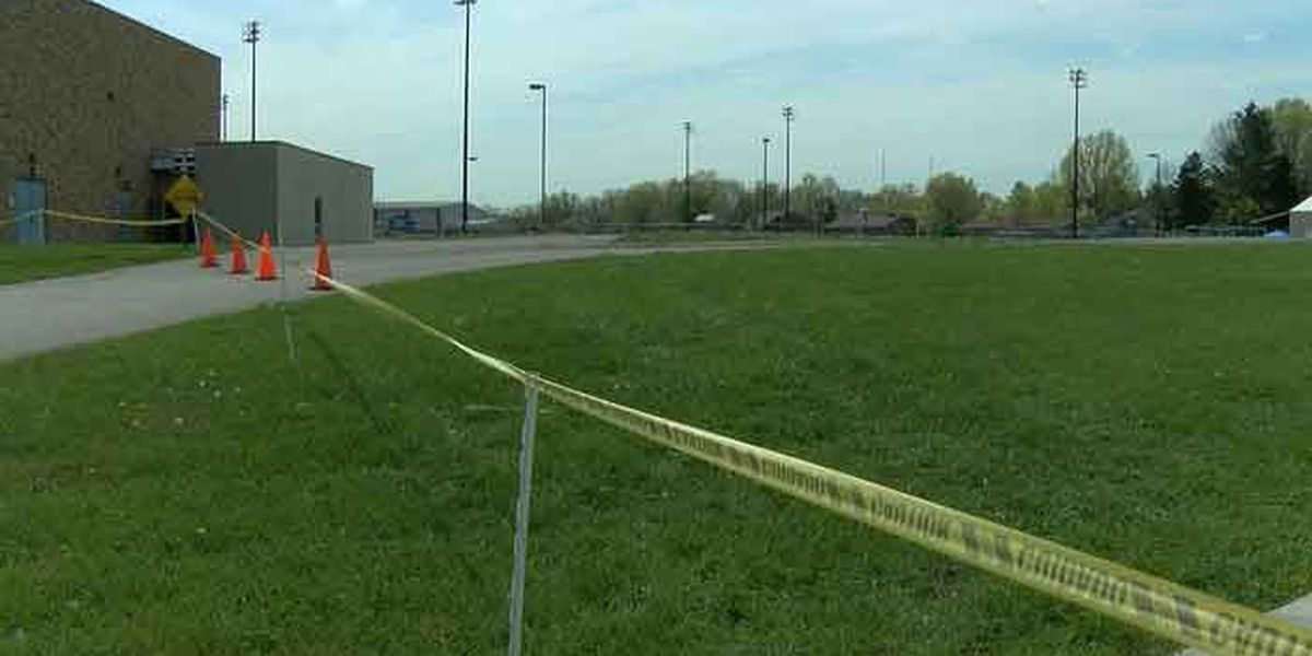High winds down Silver Creek athletic pole, others may be removed