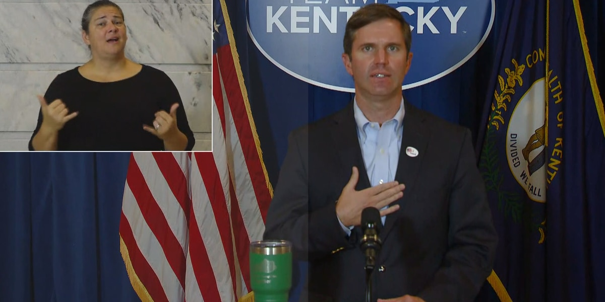 WATCH LIVE : Governor Andy Beshear's September 29 COVID-19 briefing