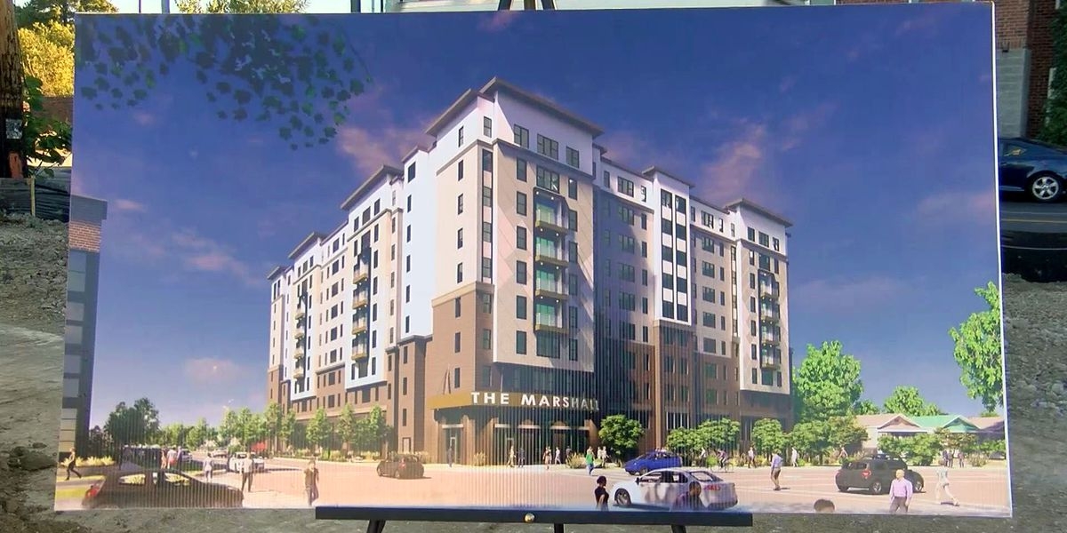 Construction of UofL luxury student housing begins