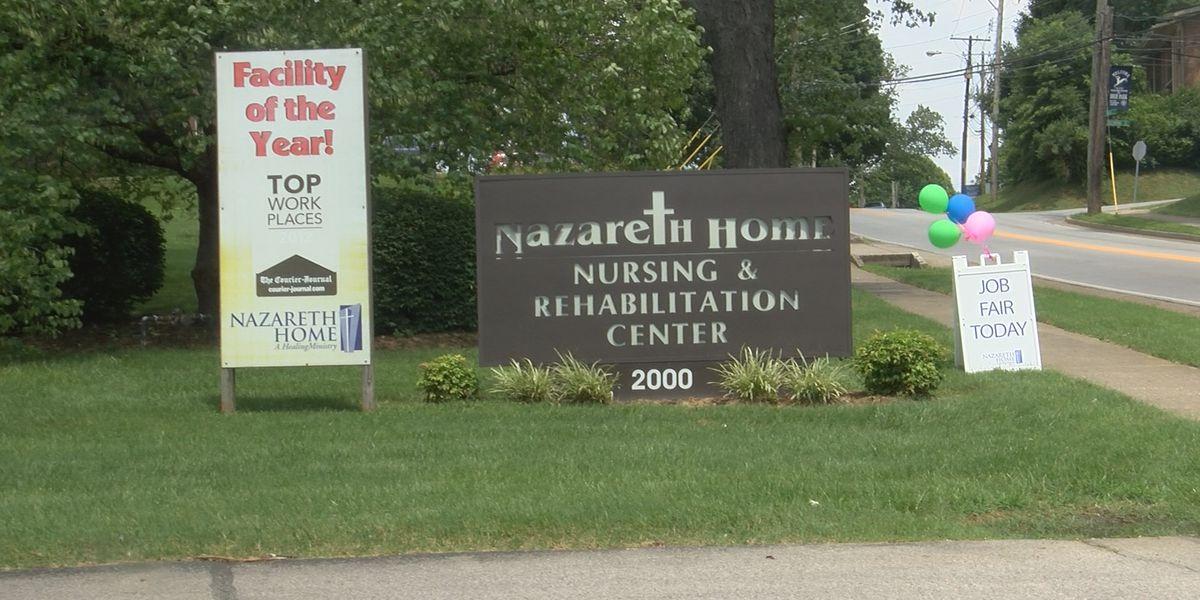 Nazareth Home hosts outdoor hiring event