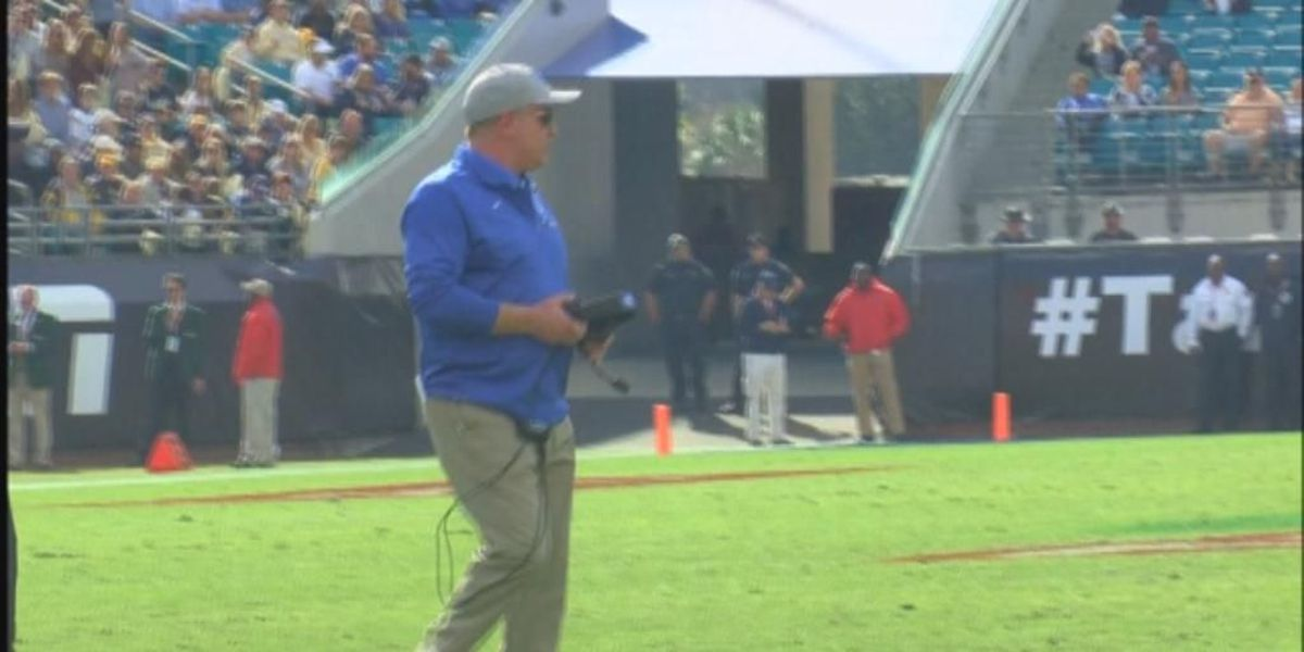 Mark Stoops helps kick off SEC Media Days