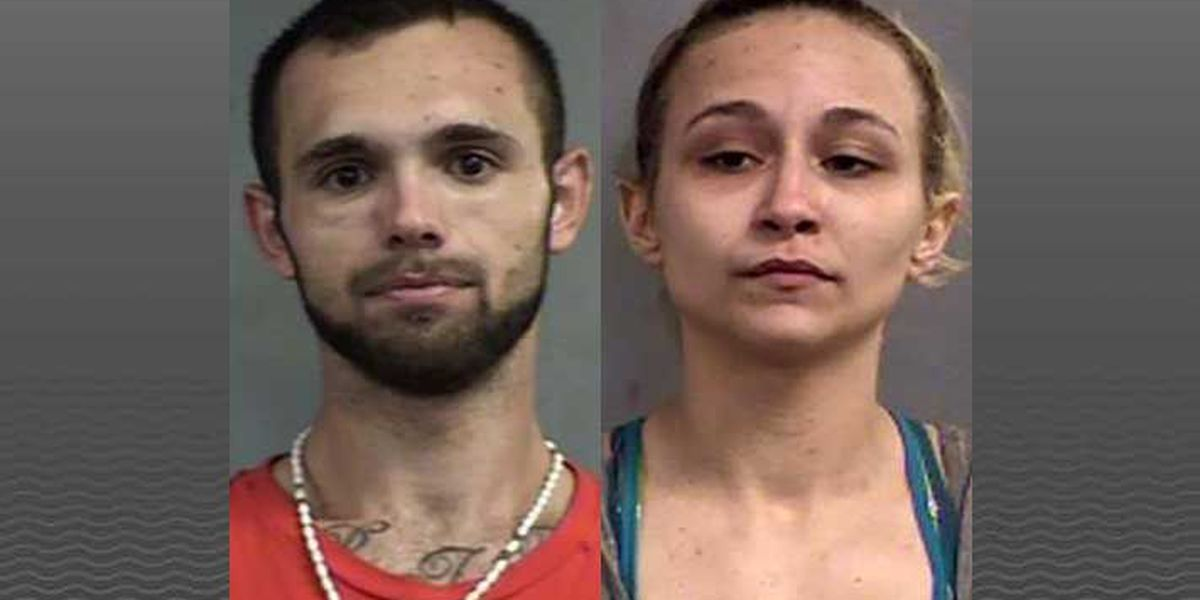 Orange and white extension cord leads to drug arrests