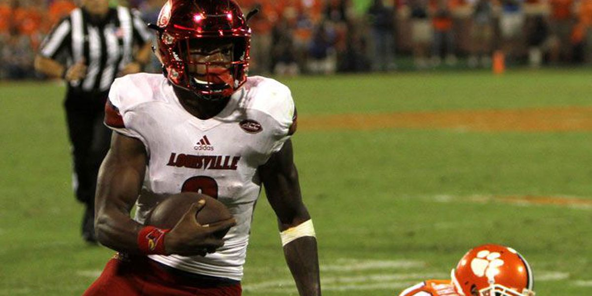 Lamar Jackson is poised to join college football royalty as the 2016 Heisman Trophy winner