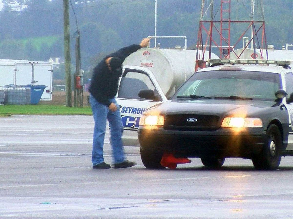 Intense driving course held for Seymour High School students