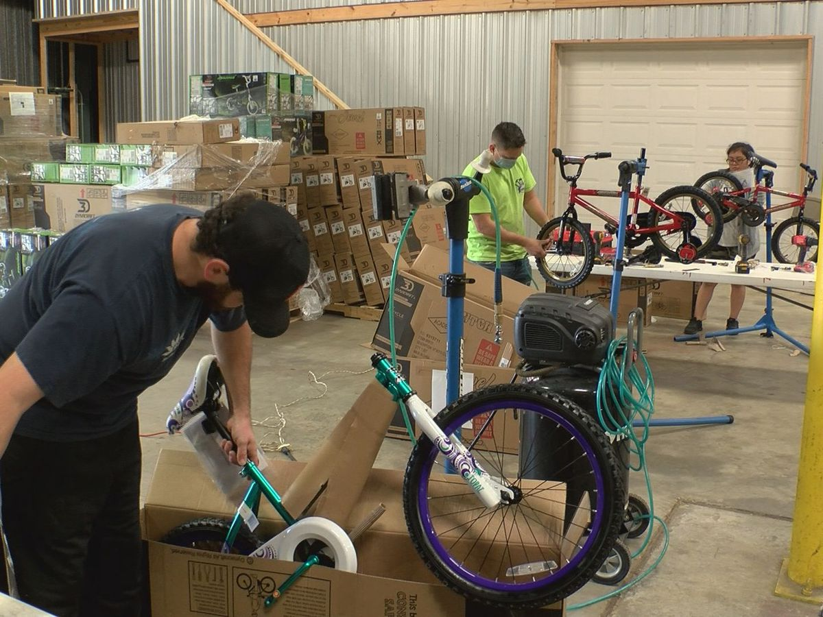 Free bikes for the holidays for children in Kentucky and Indiana