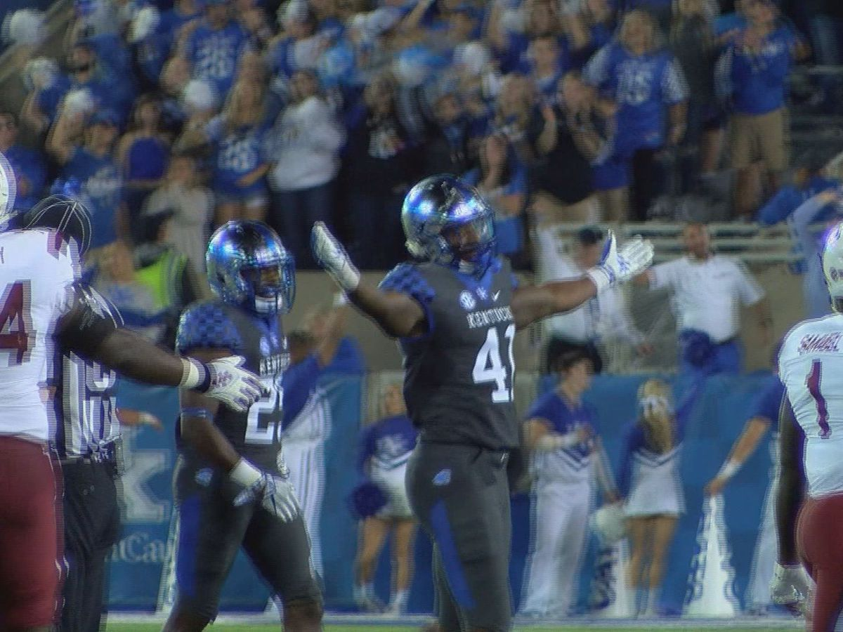 UK's Josh Allen named a consensus All-American