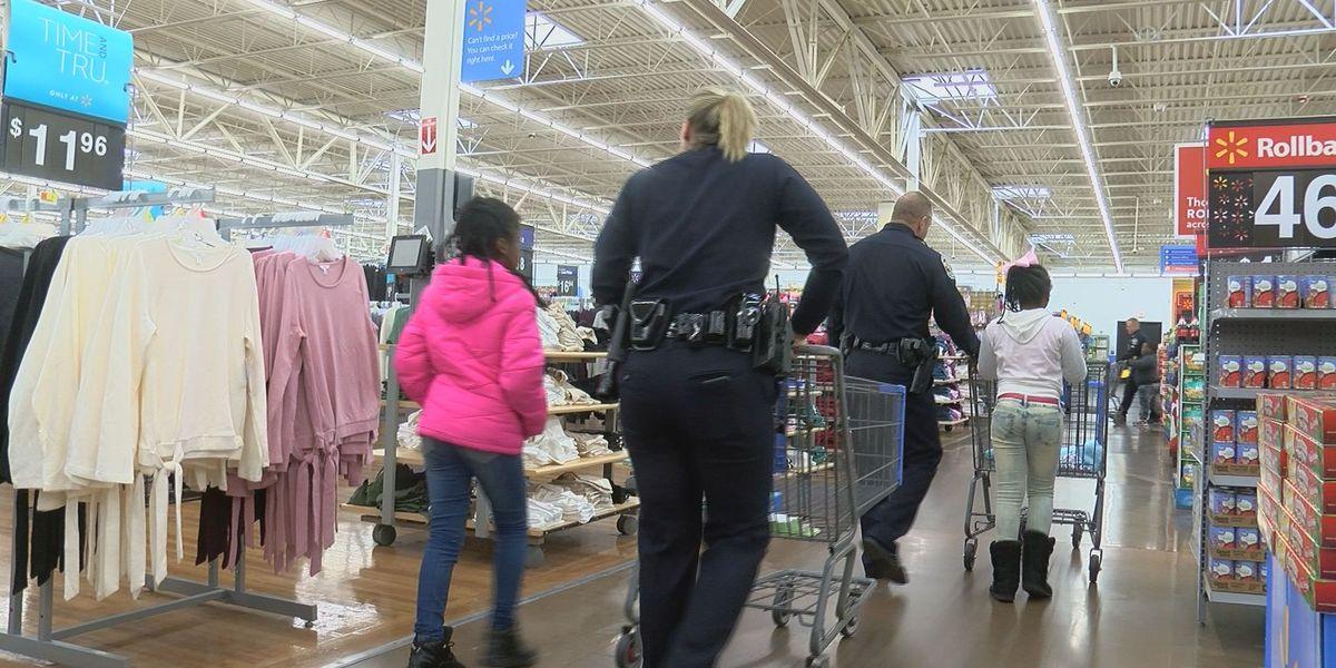 Cops take kids on Christmas shopping spree