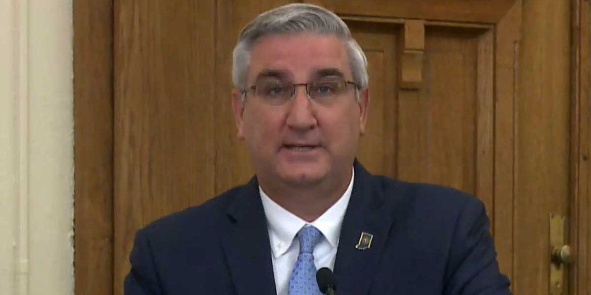 LIVE NOW: Indiana Gov. Eric Holcomb's weekly COVID-19 briefing