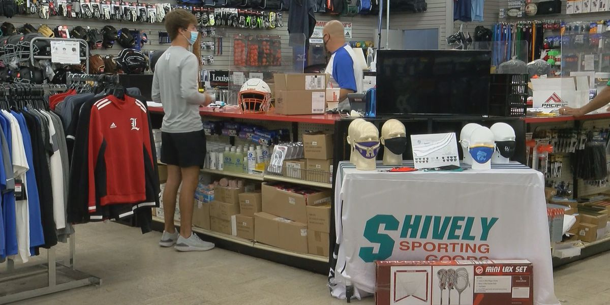 Local sporting goods institution is hoping plan for fall sports sticks