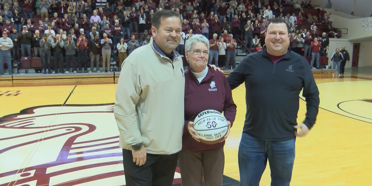 Rybak celebrates 50 years on Bellarmine stats crew