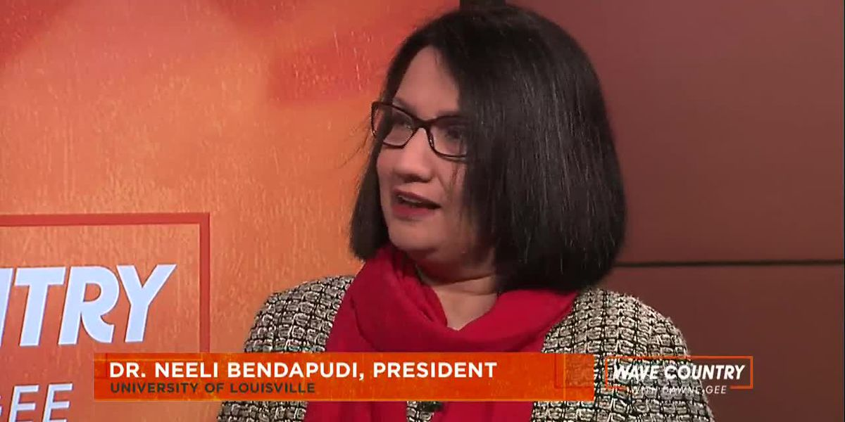 UofL President Dr. Neeli Bendapudi shares views on university's future