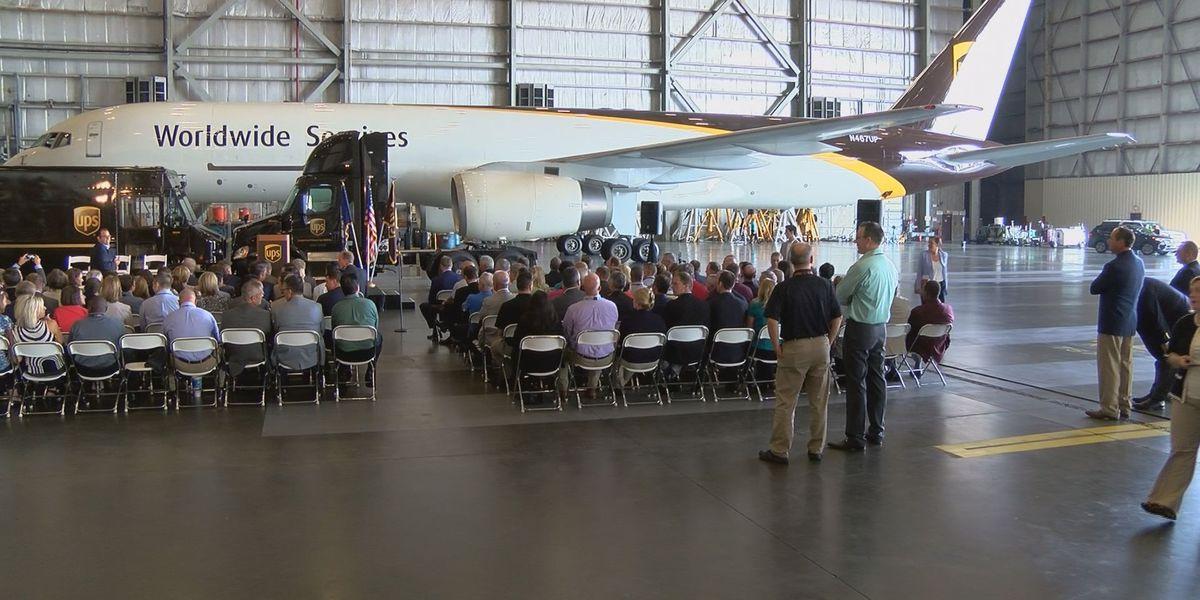 Tax reform proposal announced at Louisville UPS hangar