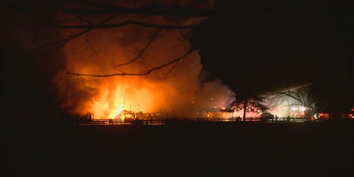 One person injured in 2-alarm fire that destroyed Prospect barn
