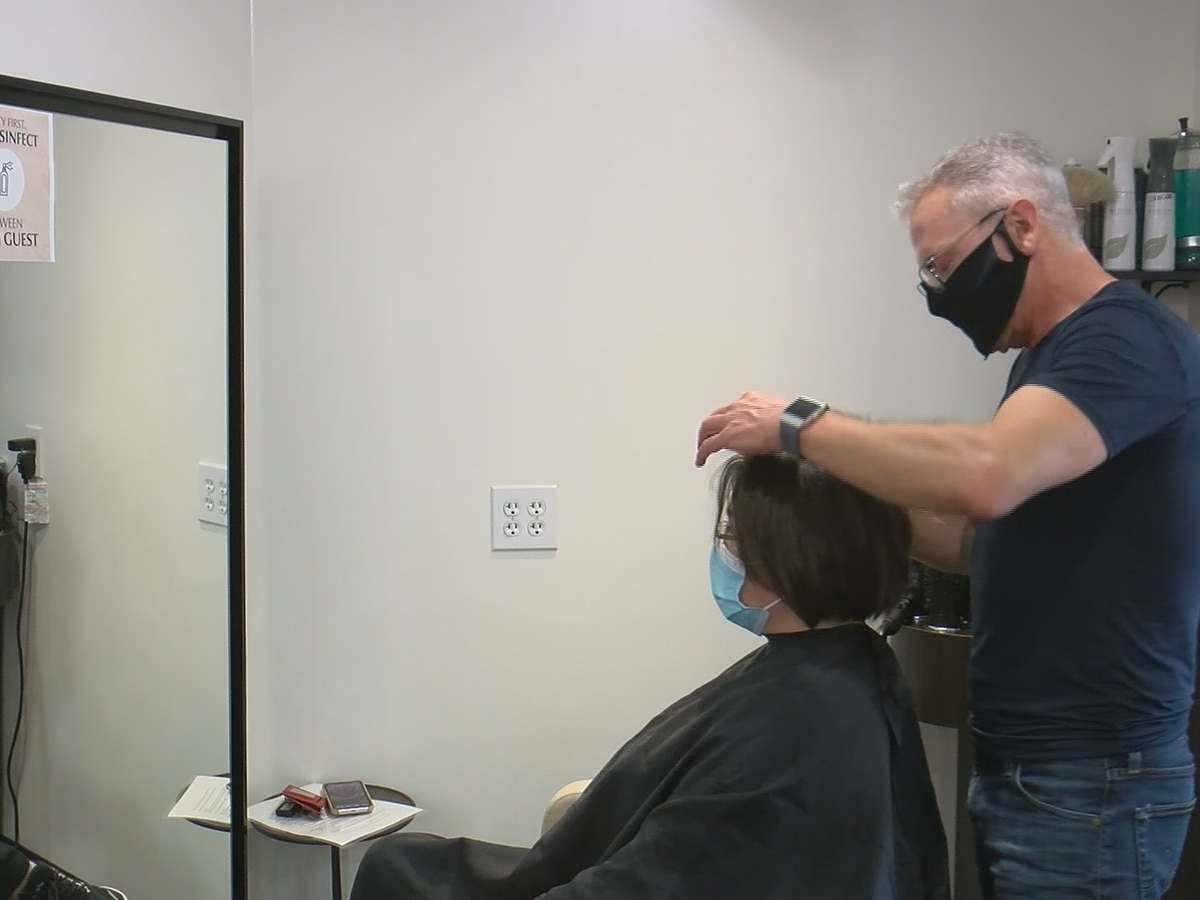 Hair salons, massage therapists among businesses that reopened Memorial Day
