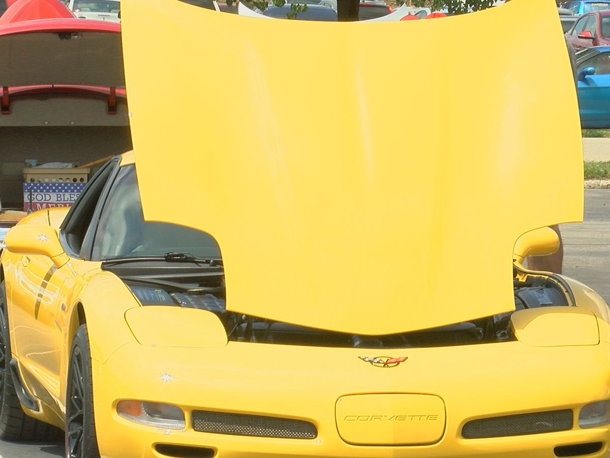 Corvette history hits Louisville, all for a good cause
