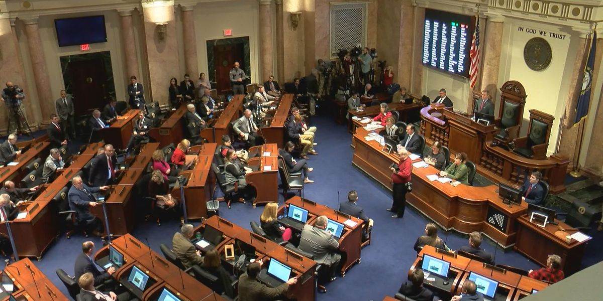 Last day of legislative session keeps KY lawmakers busy