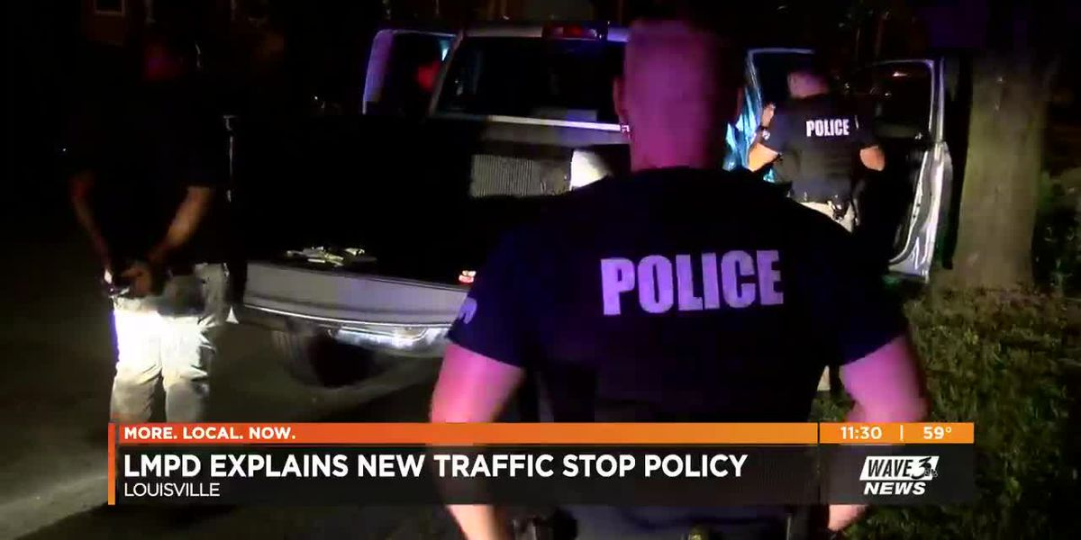 Safety expert answers 5 questions about LMPD traffic-stop policy changes