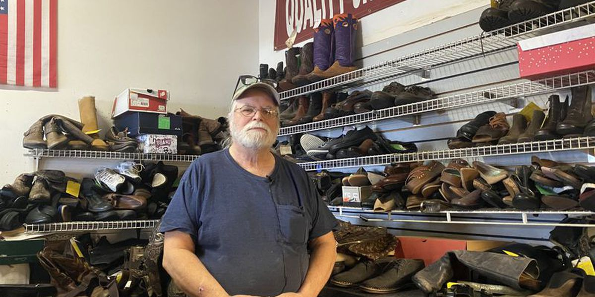Local shoe repair shop in fear of closing saved through community efforts