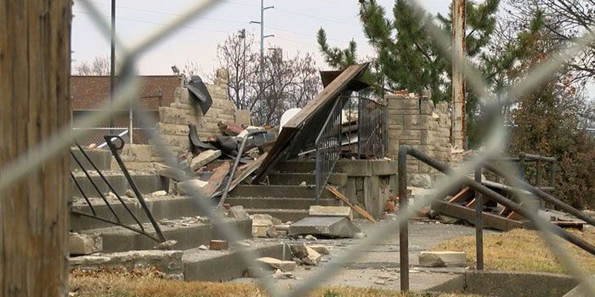 Former church torn down to make way for Churchill Downs expansion