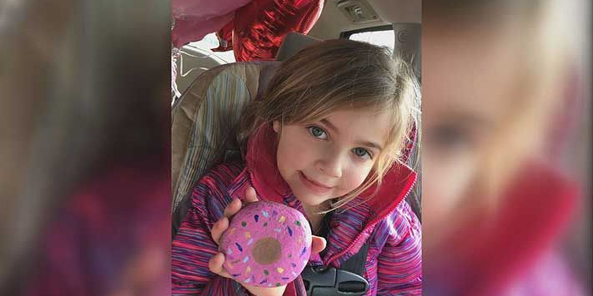 Kids painting rocks to spread message of survival