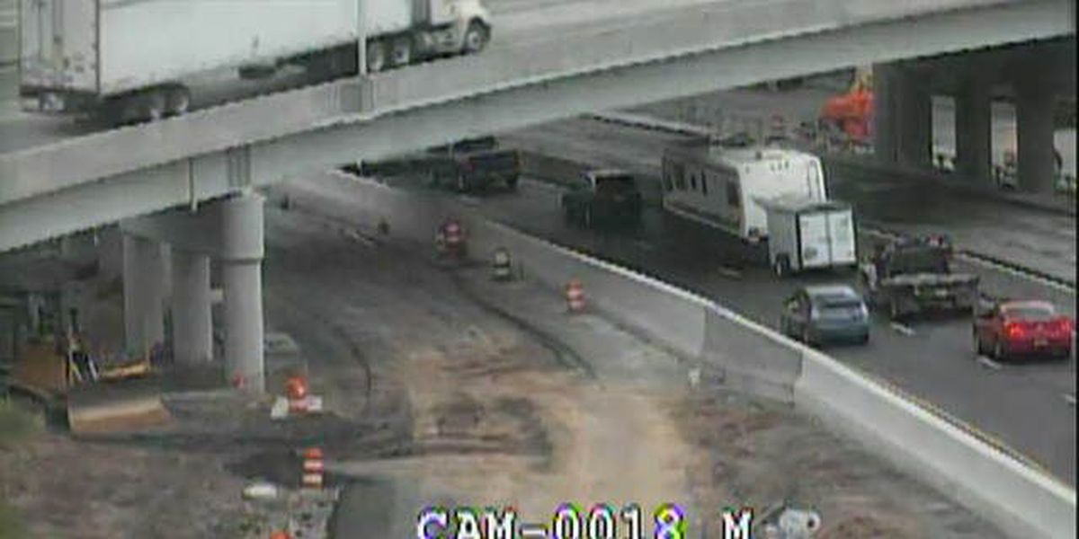 UPDATE: All lanes of I-64 EB open in downtown Louisville