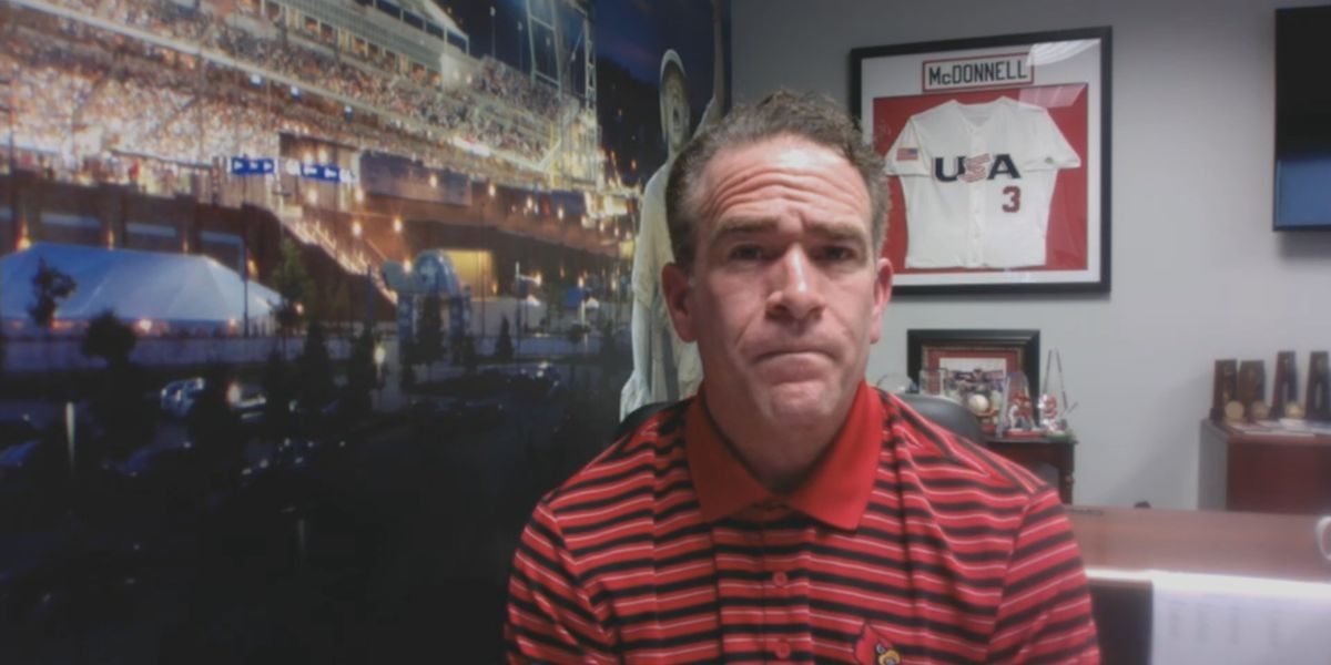 UofL's McDonnell reacts to NCAA cancelling the rest of his season