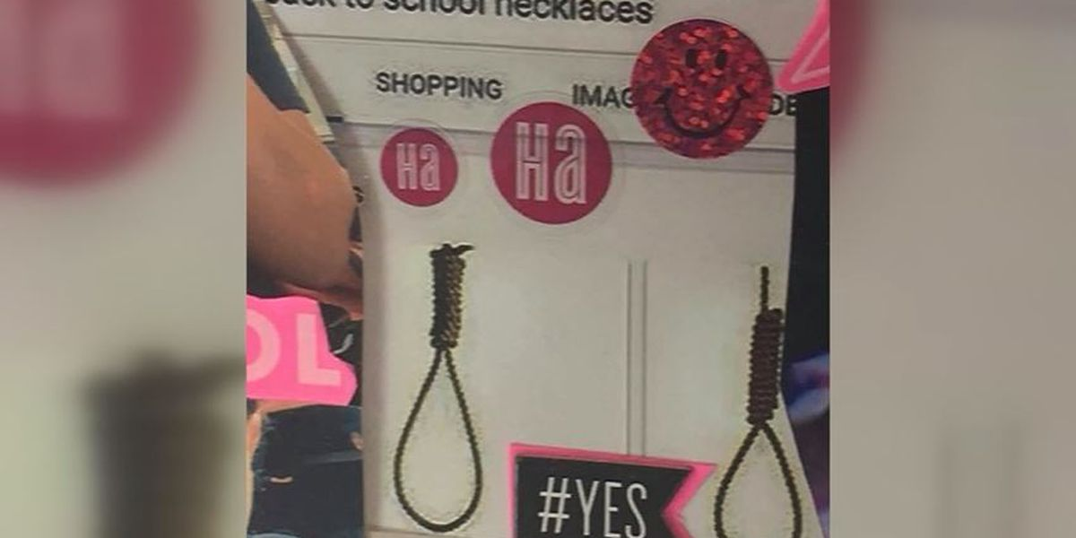 A New York school district investigates noose images marked as 'back to school necklaces' in classroom