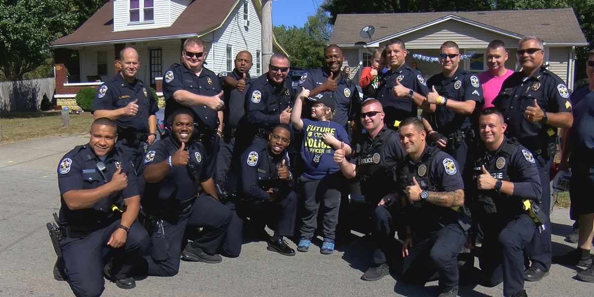 LMPD officers 'swarm' 9-year-old's birthday party