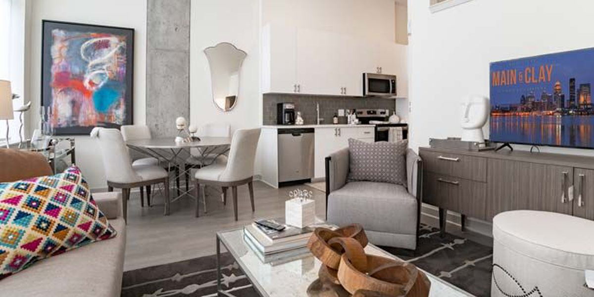 FIRST LOOK: New apartment complex opens in downtown Louisville