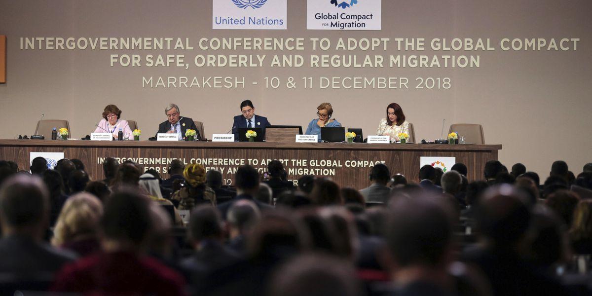 The Latest: Moroccan king: Repression won't halt migration