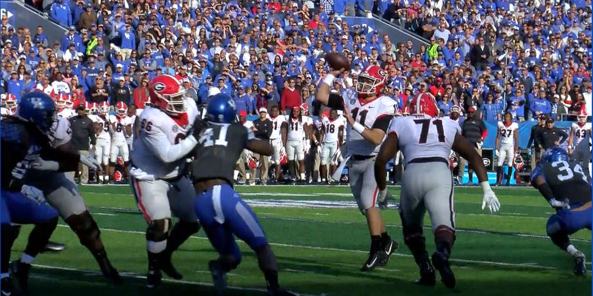 Georgia captures SEC East with win over UK