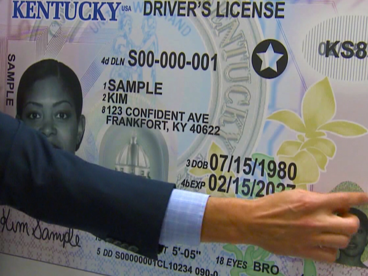 Beshear says all Kentuckians can get Real IDs in Frankfort