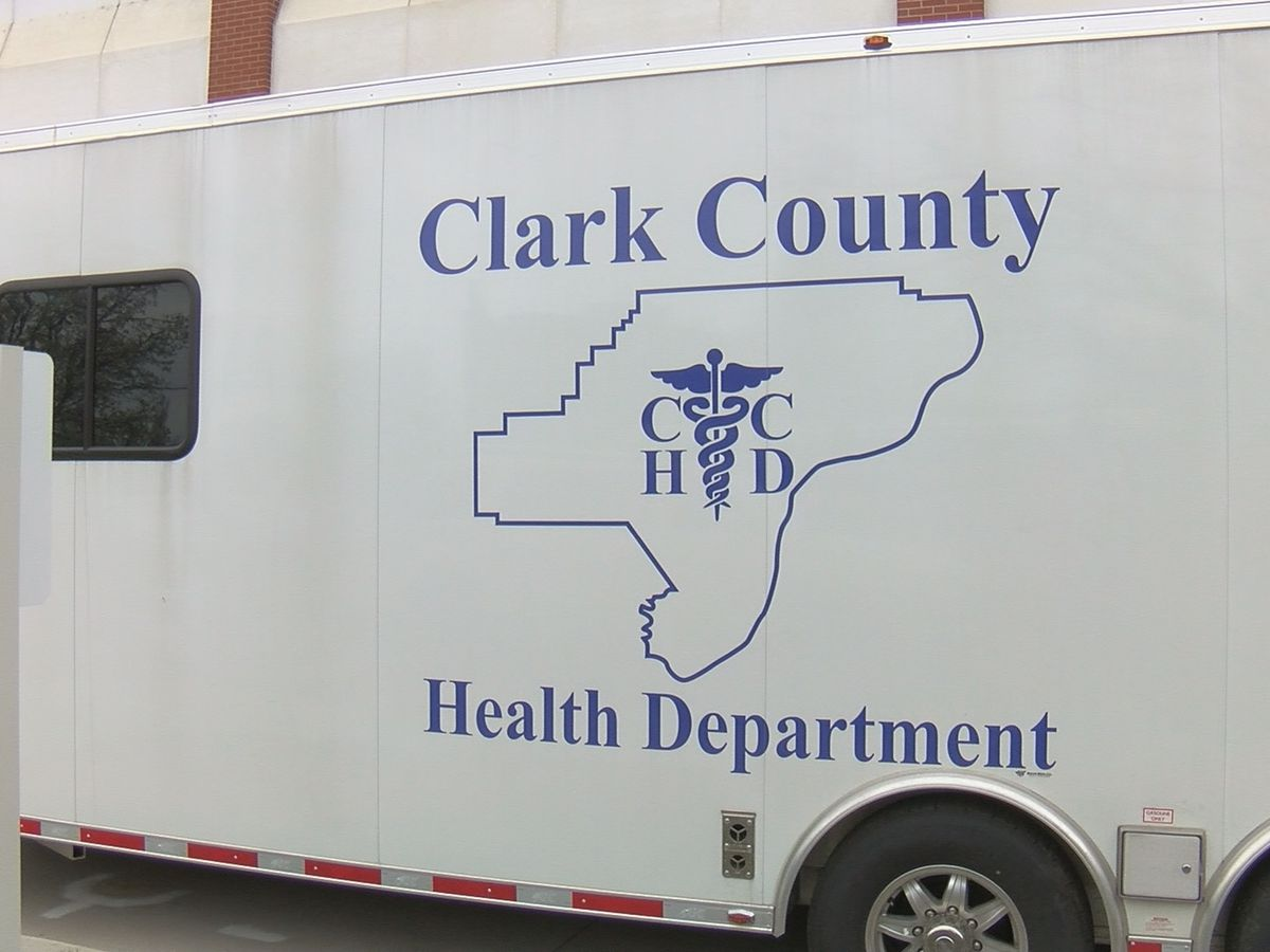 Clark County reports its first coronavirus-related death