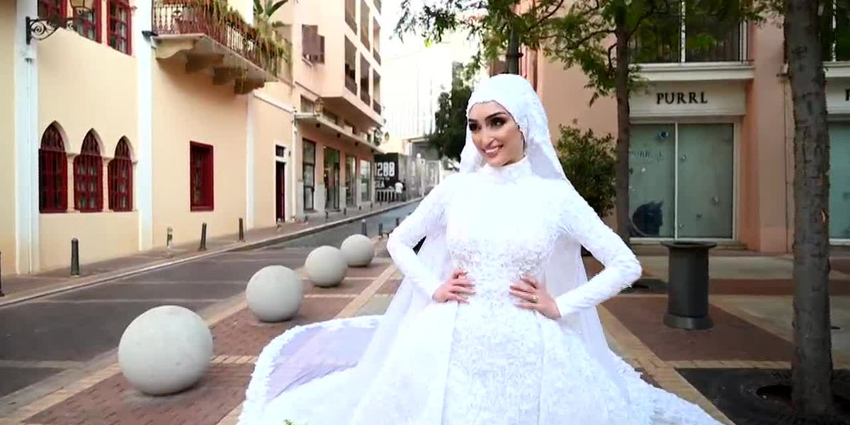Beirut: Wedding photo shoot video captures blast