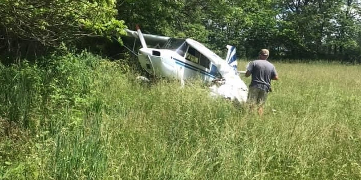 Plane crash knocks out power in northern Hardin County