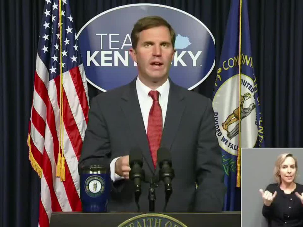 WATCH LIVE : Governor Andy Beshear's April 12 COVID-19 briefing