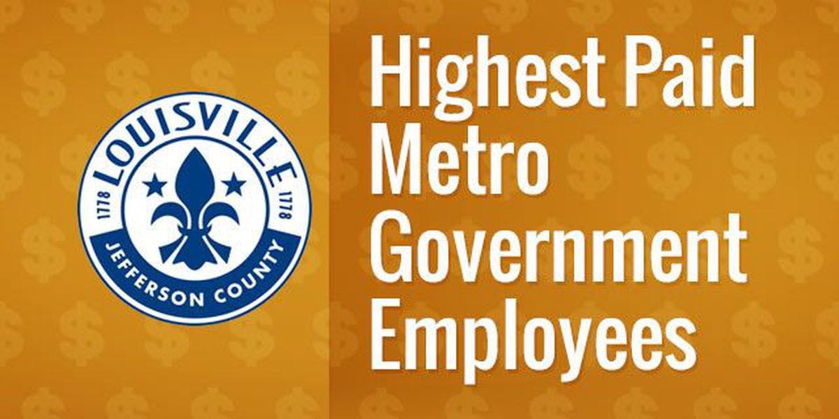 LIST: The 30 highest-paid Metro government employees