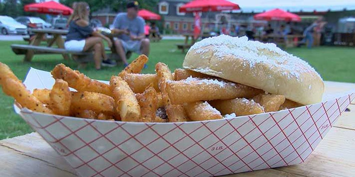 Rally's unveils special burger for Kentucky State Fair