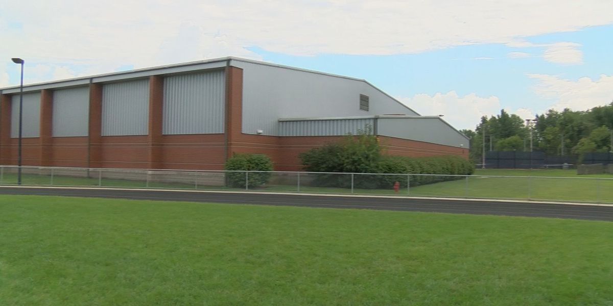 High temperatures cancel volleyball game inside gym with no air conditioning