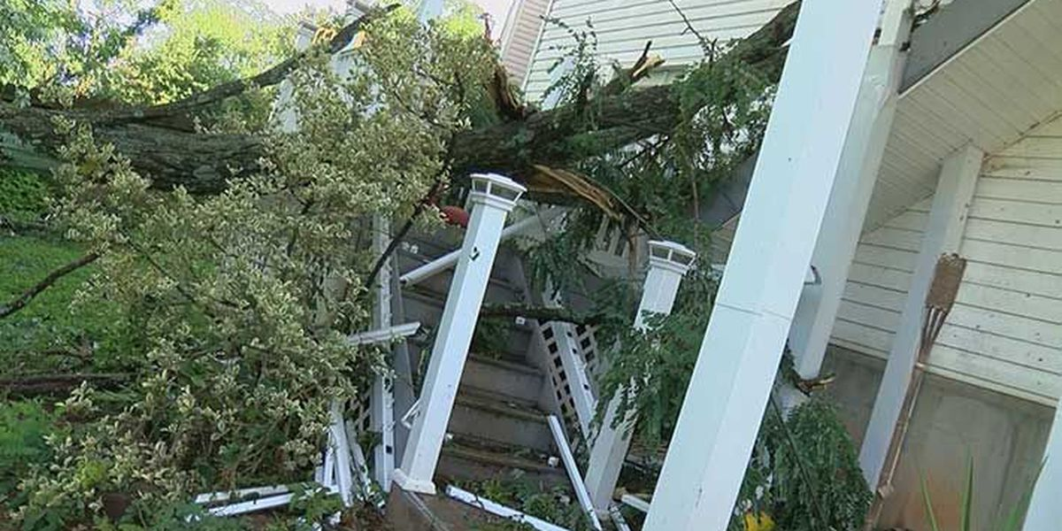 Track the path of Tuesday's tornado that ripped through Jefferson/Oldham counties