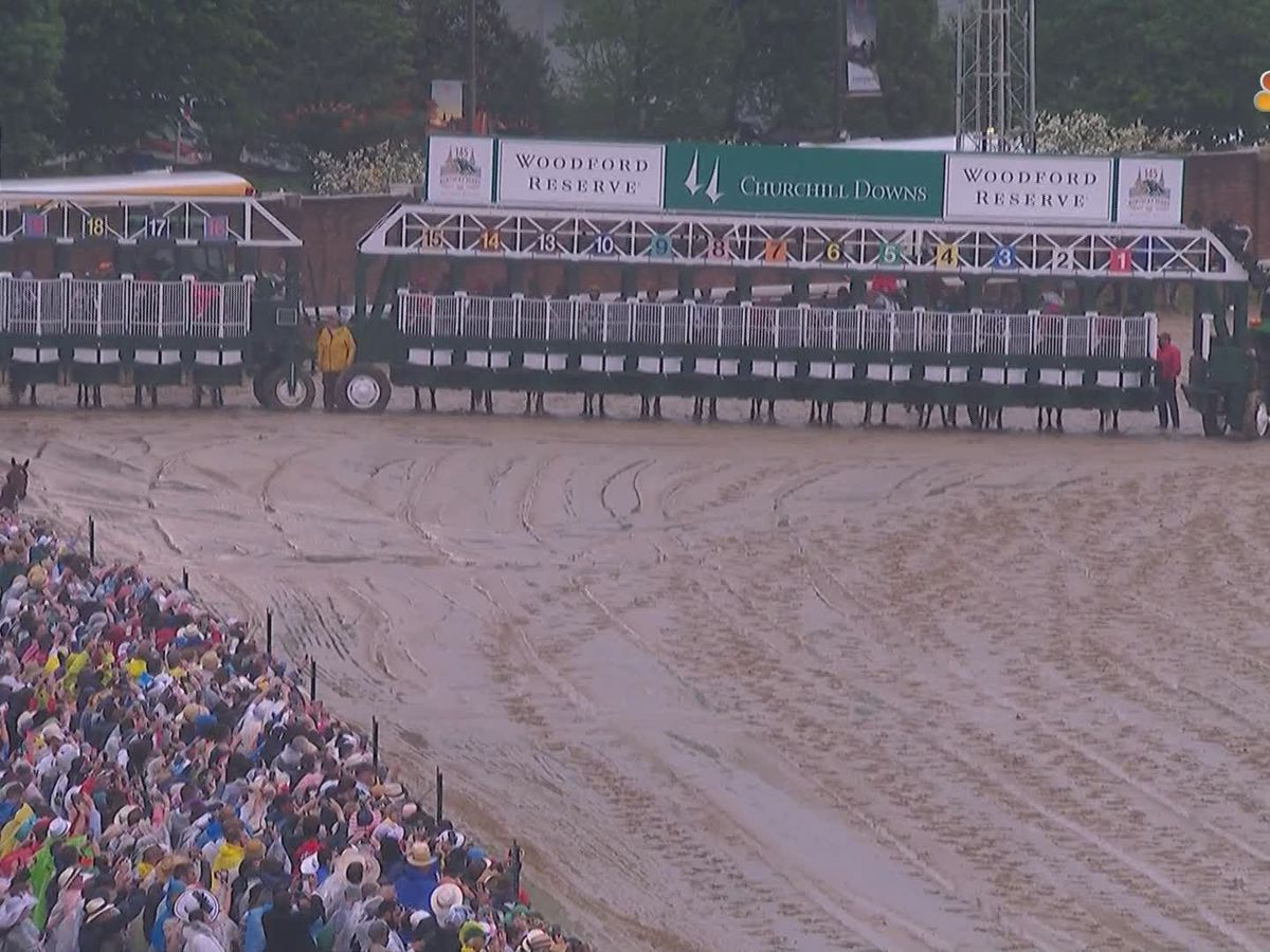 Churchill Downs investigates 20 horse starting gate