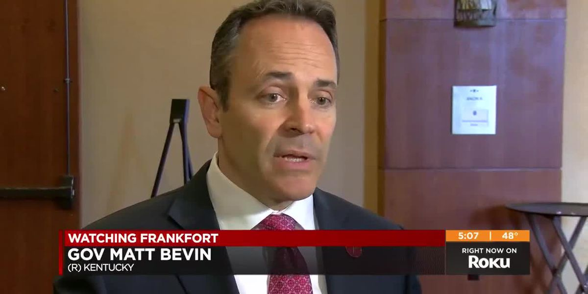Bevin doubles down on need for special session to address pension funding crisis
