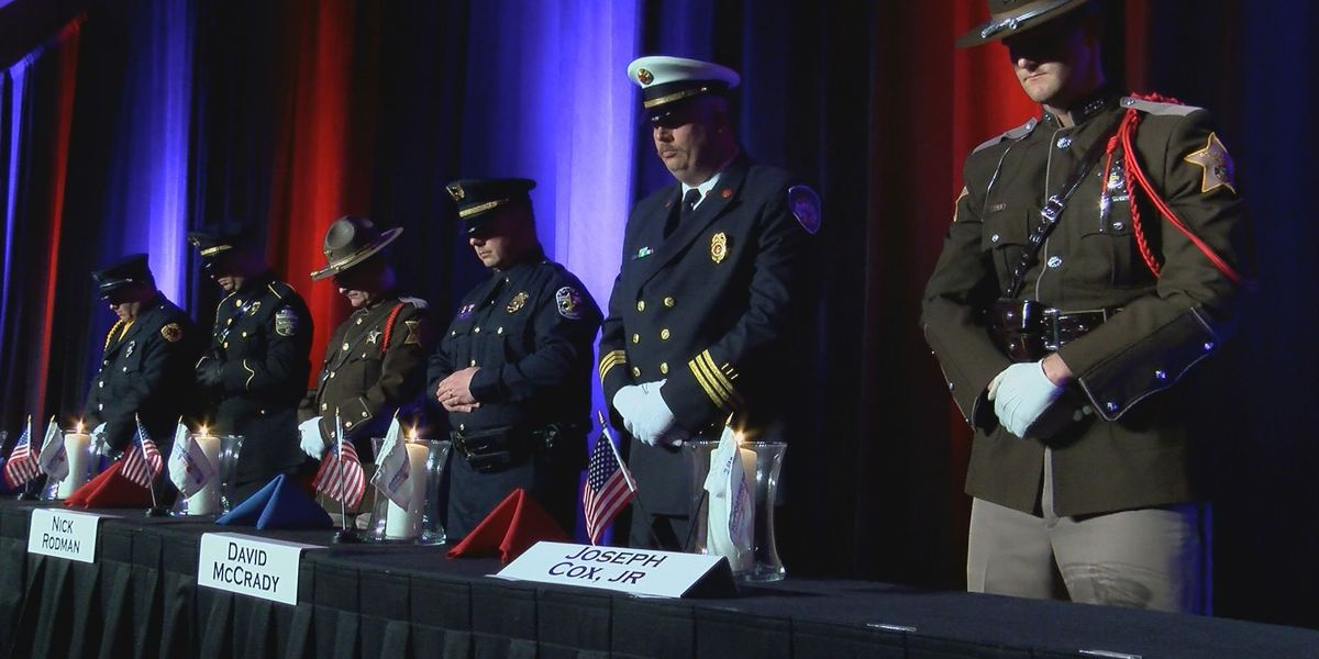 'Supporting Heroes' honors fallen officers, firefighters