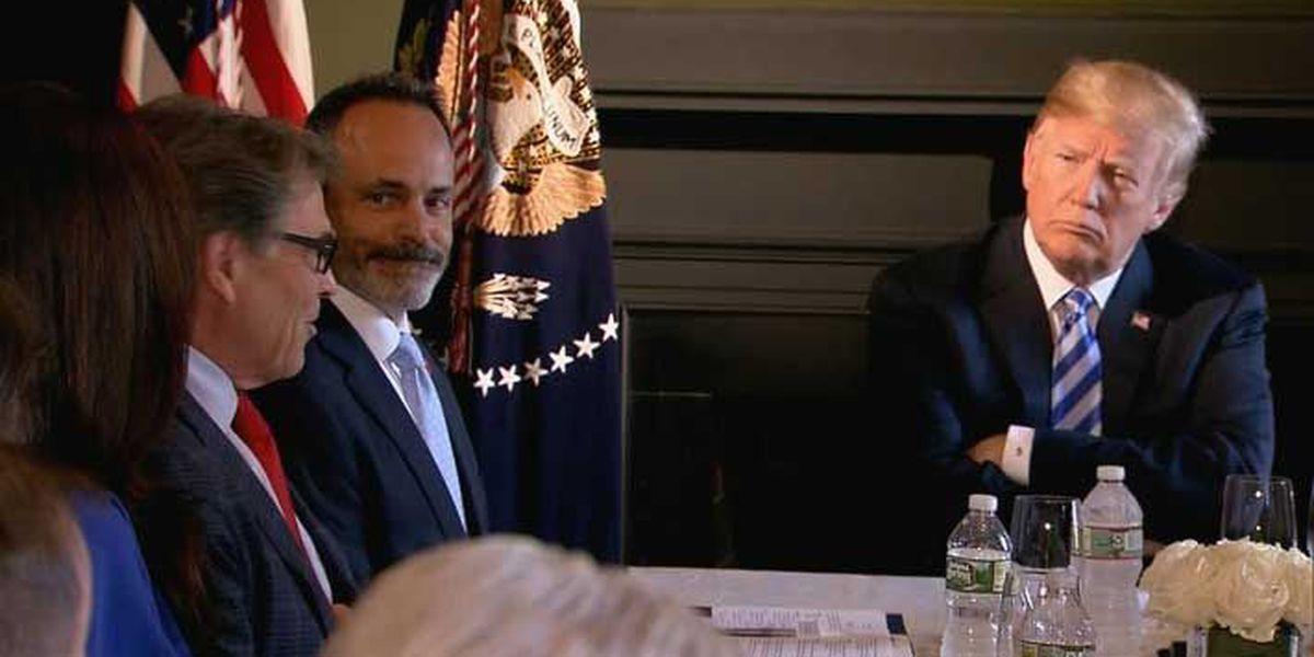 Gov. Bevin joins President Trump for prison reform roundtable