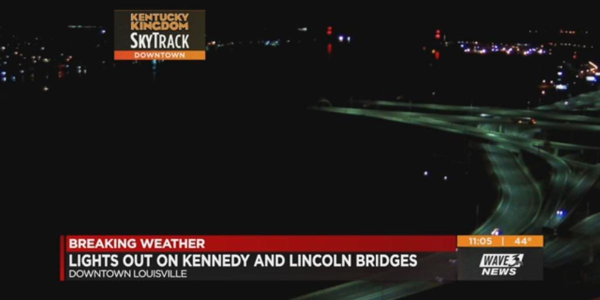 Power shut off at Kennedy, Lincoln Bridges due to unsafe water levels
