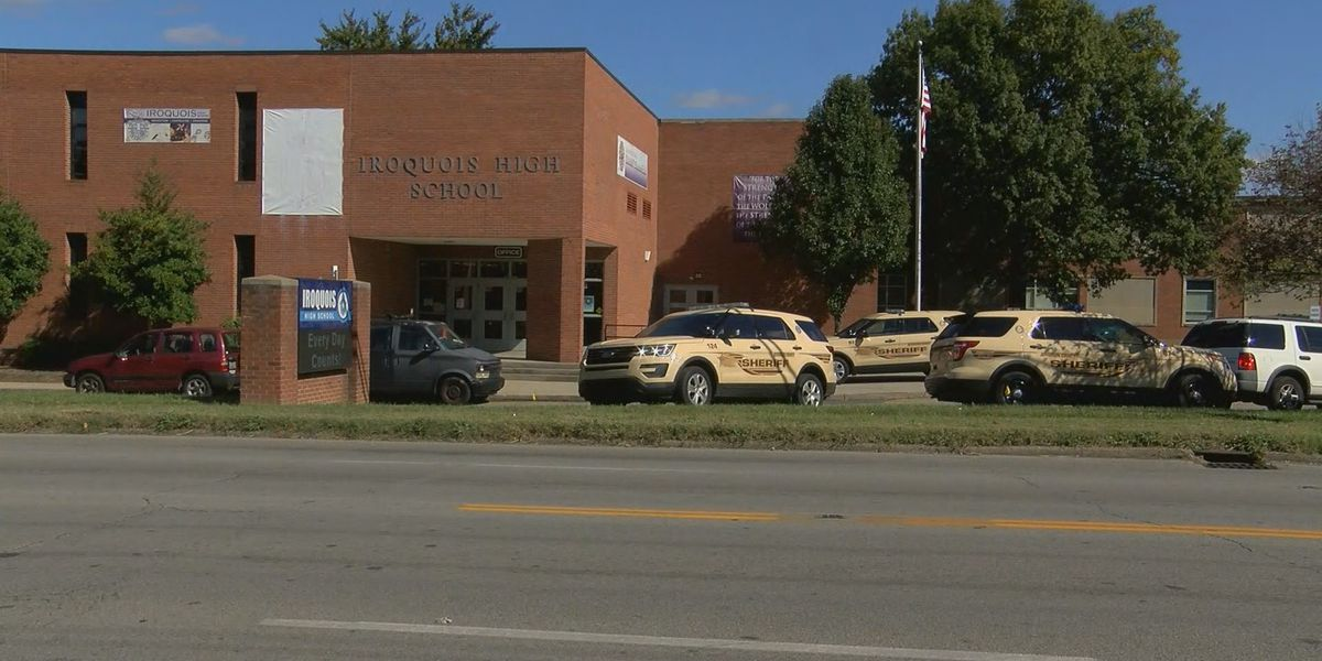 LMPD, JCSO responds to fight at Iroquois High School, principal assualted