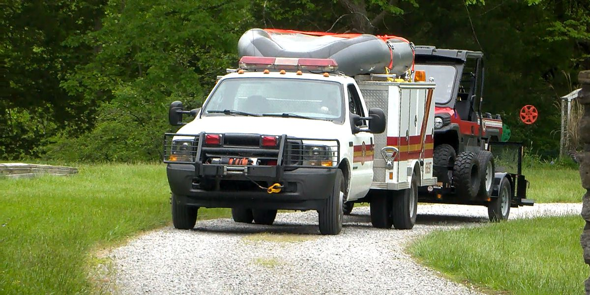LMPD: Person in critical condition after accidentally driving lawnmower into lake
